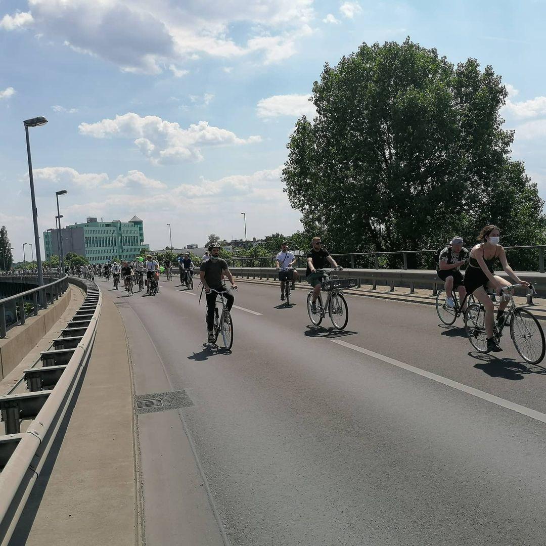 Berliner Fahrradsternfahrt 2021
