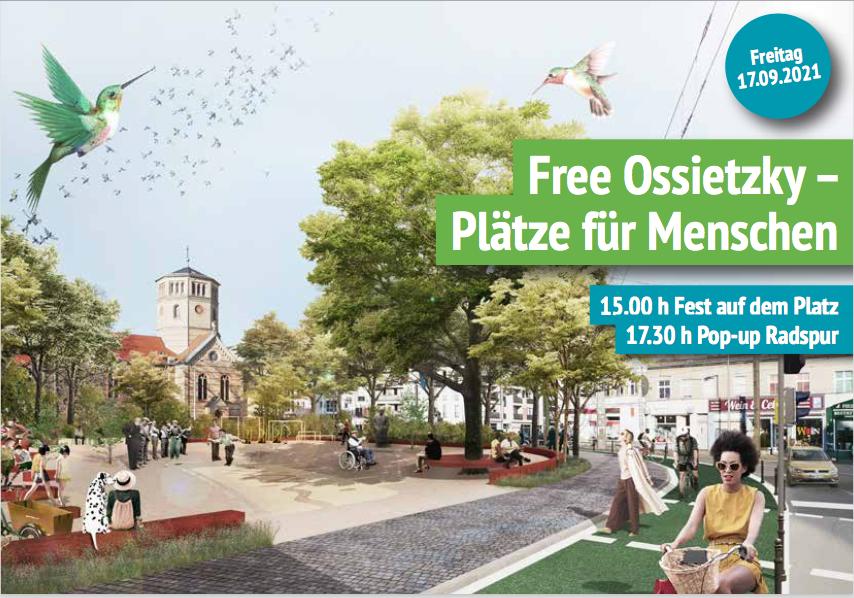 Free Ossietzky – Plätze für Menschen